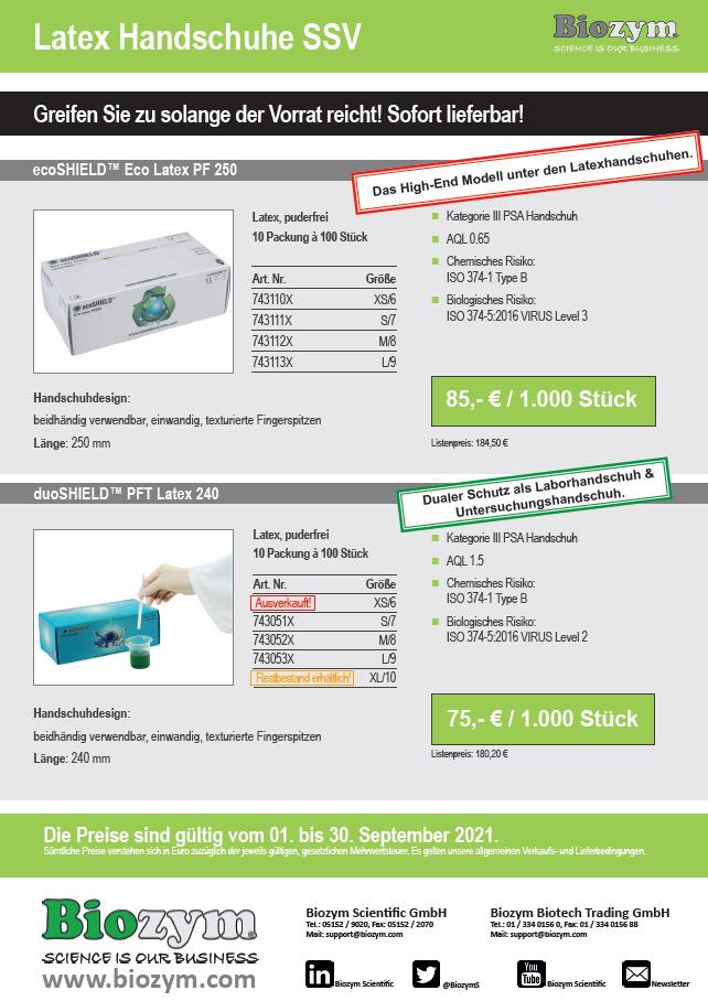 Laborhandschuhe Sonderpreise